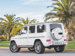 The Mercedes AMG G 63.
