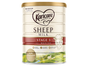 Danone's new sheep milk baby formula.