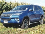 The Fortuner is Toyota's medium-wagon SUV.