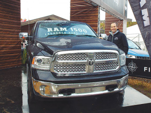 The new Ram 1500 was unveiled at Fieldays last month.