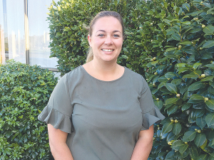 Young Farmers board chair Ash-Leigh Campbell is one of nine rural women nominees.