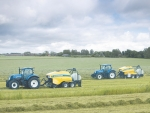 New Holland's roll bale range.
