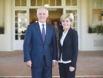 New Australian Prime Minister Malcolm Turnbull and deputy PM Julie Bishop.
