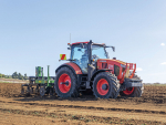 Subsoiler busts yield robbing compaction