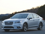 The new Subaru Legacy has a clean, fresh look.
