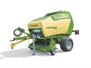 Krone Comprima Plus is the latest addition to the German company's range of variable chamber round balers.