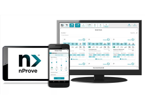 The nProve interface.