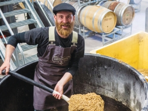 Brewing up a storm with the Kilarabbit beers – Jody Pagey.