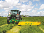 Irish mower treads lightly over sward
