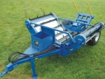 McIntosh's newly introduced double bale feeder.
