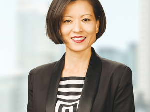 Chief operating officer of global consumer and foodservice, Jacqueline Chow.