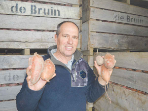 "Vegetable NZ chairman and Dargaville kumara grower Andre de Bruin describes the way growers and workers adapted during the lockdown as ""fantastic""."