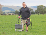 Massey University soil scientist Dave Horne.