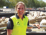 Felicity Cameron, Spring Sheep Dairy's Tauwhere Road Farm manager.