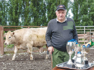 Veteran cleans up prime beef contest