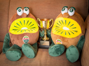 Move over celebrities, here come the two 'Kiwifruit Brothers'.
