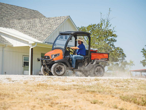 Kubota's new RTV 520 utility vehicle comes with a bold new look, increased suspension and an increase in engine capacity.