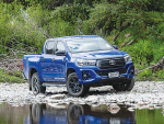 Hilux marks milestone with attitude injection