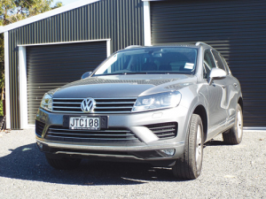 The Volkswagen Touareg.