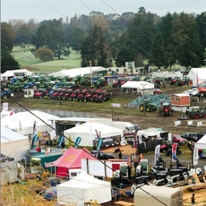 Orders from National Fieldays helped tractor registrations rise.