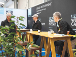 Synlait staff were at the Fieldays talking to potential Waikato farmer suppliers.