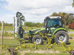 Deutz-Fahr's range of 5D TTV tractors are aimed at the orchard and vineyard sector.