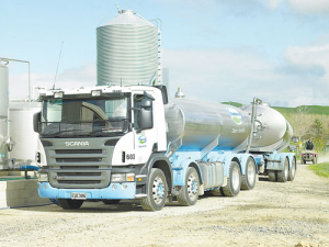 North Island milk collection for the 2018-19 season to that date was up 4% and South Island milk collection up 5%.