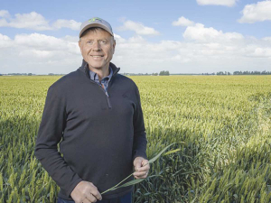 Craige Mackenzie's farming philosophy is right input, right quantity, right place and right time.