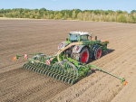 Amazone's Avant cultivator-drill combination in action.