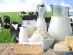 Dairy prices have fallen as concern grows around coronavirus.