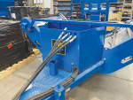 Bale feeder for tough conditions