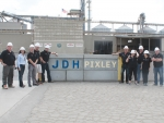 Kiwi dairy farmers tour the JD Heiskell feed mill in California that feed millions of cows daily.