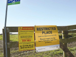 To date 4% of NZ farms have been under restrictions.