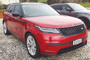 Range Rover's 2017 Velar enteres the market for high-end SUVs.