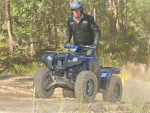 New quad works hard, rides easy